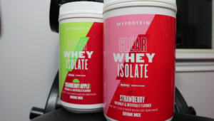Myprotein Clear Whey Isolate Cran Apple and Strawberry