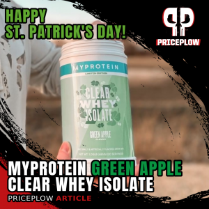 Myprotein Clear Whey Isolate Green Apple