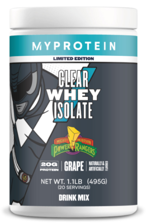 Myprotein Clear Whey Isolate Power Rangers Grape