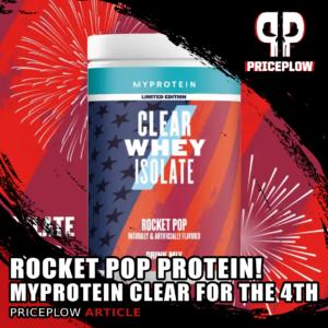 Myprotein Clear Whey Isolate Rocket Pop