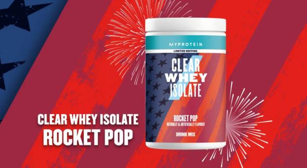 Myprotein Clear Whey Isolate Rocket Pop Freedom