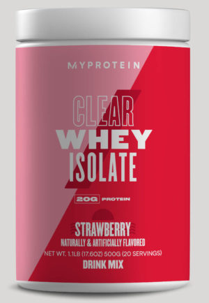 MyProtein Clear Whey Strawberry