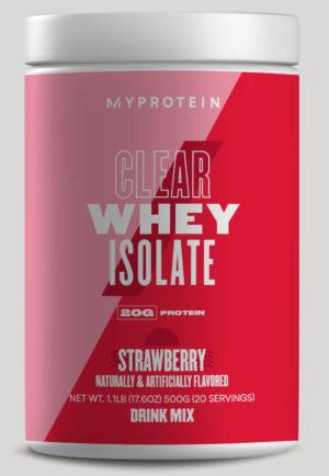 MyProtein Clear Whey Strawberry
