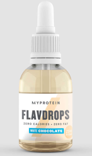 Myprotein FlavDrops White Chocolate