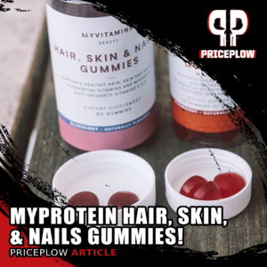 Myprotein Hair, Skin, & Nails Gummies: Cover Your Body's Needs