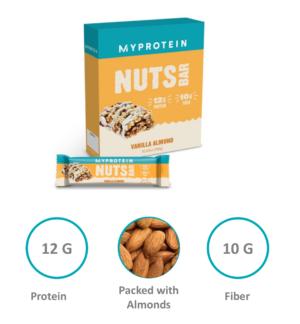 Myprotein Nuts Bar Highlights