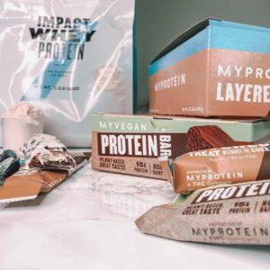 Myprotein Protein Bar Stack