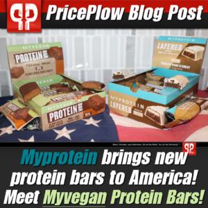 Myprotein Protein Bars 2020