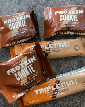 Myprotein Protein Bars and Cookies