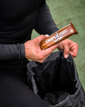 Myprotein Triple Stack Protein Bar Graphic
