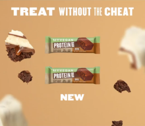 Myprotein Vegan Protein Bar Graphic