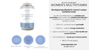 Myprotein Womens Daily Multivitamin