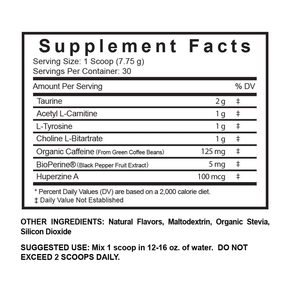 Northbound's All-Natural Blend: A Stevia-Sweetened Nootropic