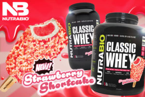NutraBio Classic Whey Strawberry