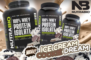 NutraBio Ice Cream Cookie Dream Isolate