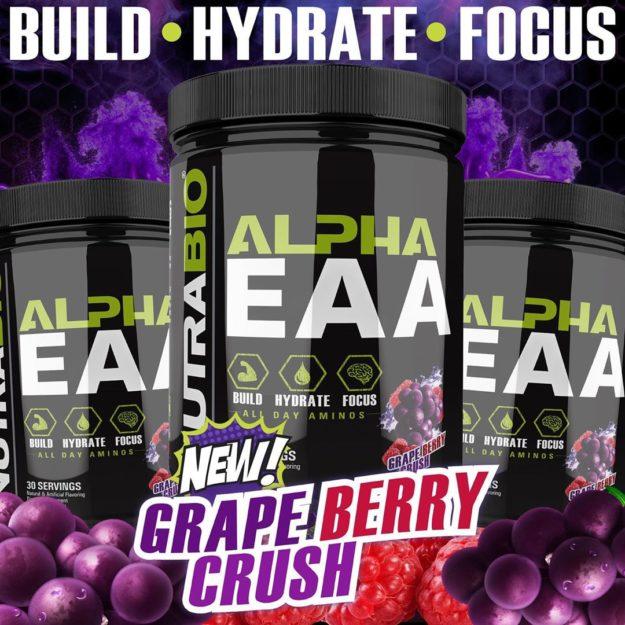 NutraBio Alpha EAA Grape Berry Crush