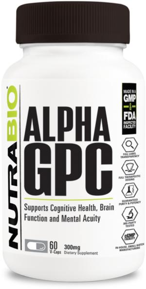 NutraBio Alpha-GPC