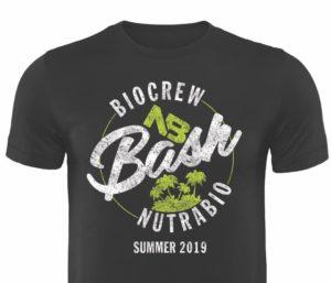 NutraBio BioCrew Bash T-Shirt