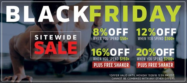 Click for the NutraBio Black Friday Sale!