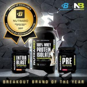 NutraBio Breakout Brand Winner