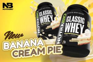 NutraBio Classic Whey Banana Cream Pie