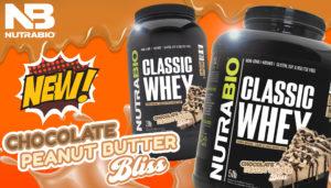 NutraBio Classic Whey Chocolate PB Bliss