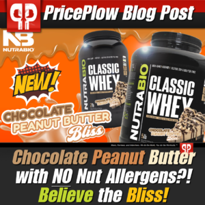 NutraBio Classic Whey Chocolate Peanut Butter bliss PricePlow