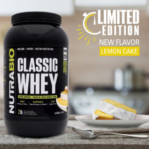 NutraBio Classic Whey Limited Edition