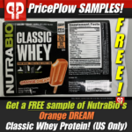 NutraBio Classic Whey Orange Dream Free Sample PricePlow