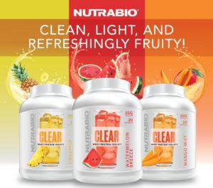 NutraBio Clear Whey Isolate