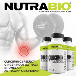 NutraBio Curcumin Advanced Features