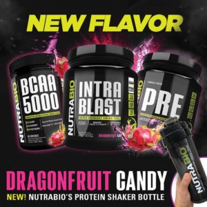 NutraBio Dragon Fruit Candy