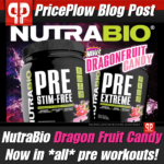 NutraBio Dragon Fruit Candy Pre Workouts