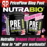 NutraBio Dragon Fruit Candy Pre Workouts