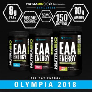 NutraBio EAA Energy Unveil