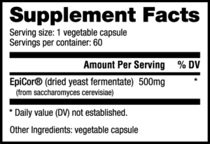 NutraBio EpiCor Ingredients
