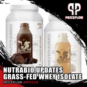 NutraBio Grass-Fed Whey Protein Isolates