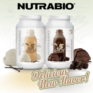NutraBio Grass Fed Whey Isolate