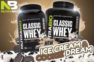 NutraBio Classic Whey Cookies & Cream