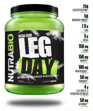 NutraBio Leg Day Features