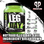 NutraBio Leg Day PricePlow