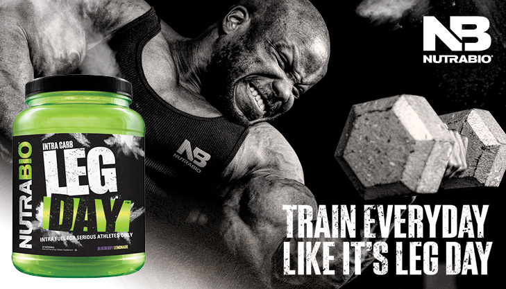 It's LEG DAY! NutraBio's Monster Intra Workout Supplement is Here!