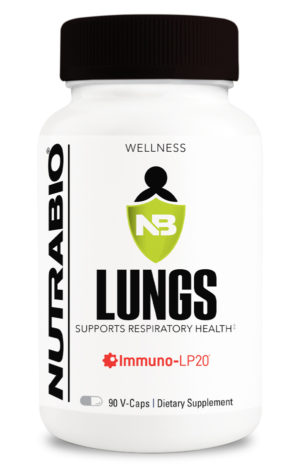 NutraBio Lungs Front