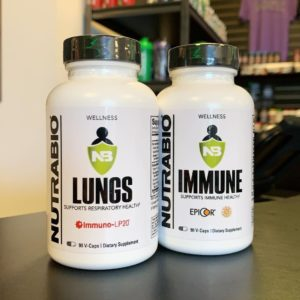 NutraBio Lungs Immune