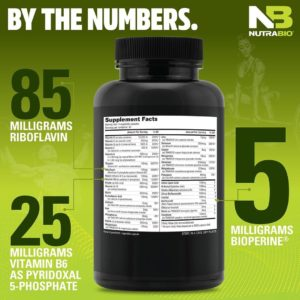 NutraBio Multi Sport Benefits
