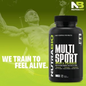 NutraBio MultiSport Men's