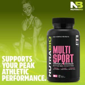 NutraBio MultiSport Women's