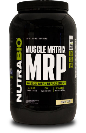 NutraBio Muscle Matrix MRP