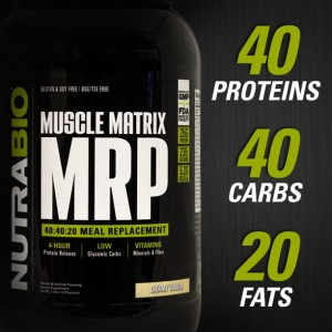 NutraBio Muscle Matrix MRP Ratio