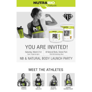 NutraBio Natural Body Inc